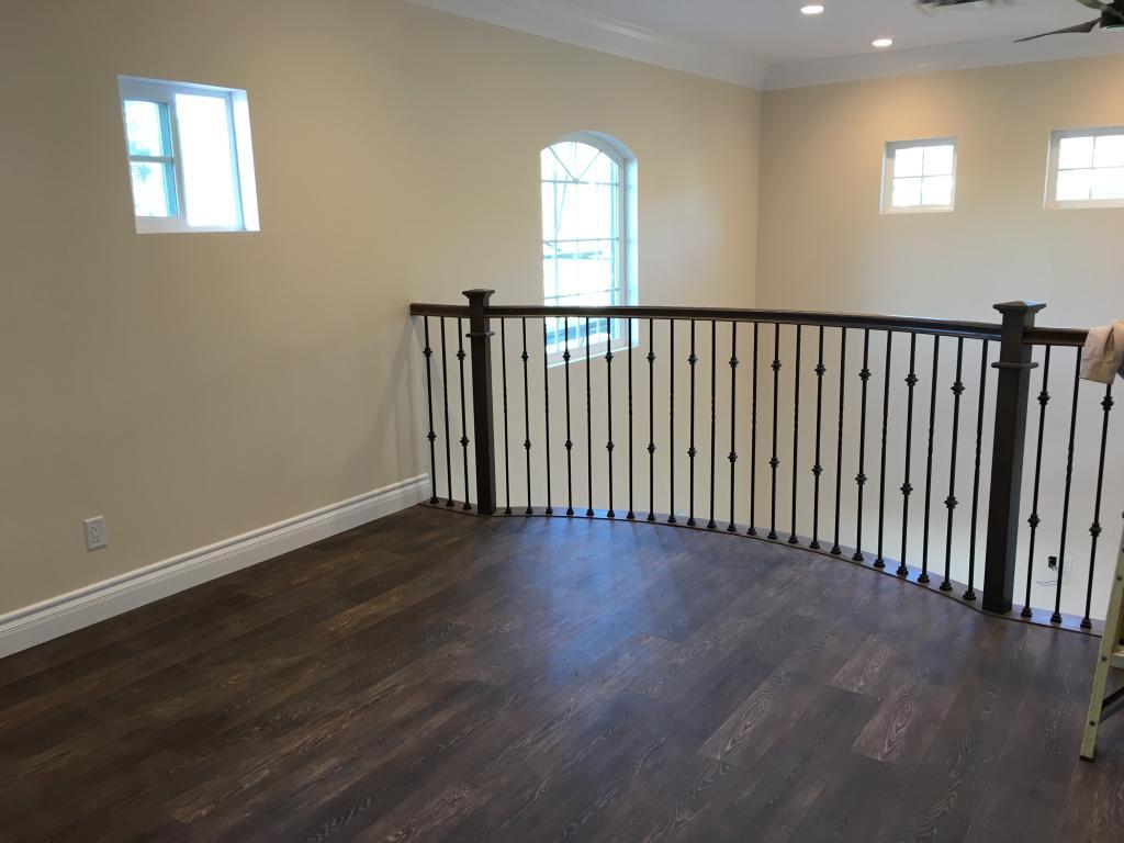 2nd story handrail