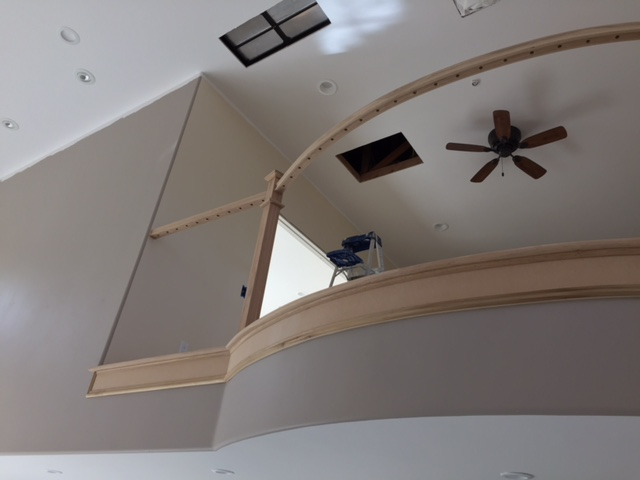 Framing Out The Handrail